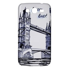 Lovely London Baby  Samsung Galaxy Mega 5 8 I9152 Hardshell Case  by Brittlevirginclothing