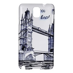 Lovely London Baby  Samsung Galaxy Note 3 N9005 Hardshell Case