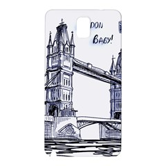 Lovely London Baby  Samsung Galaxy Note 3 N9005 Hardshell Back Case by Brittlevirginclothing