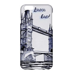 Lovely London Baby  Apple Iphone 6 Plus/6s Plus Hardshell Case by Brittlevirginclothing