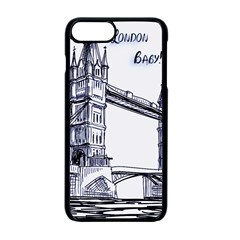 Lovely London Baby  Apple Iphone 7 Plus Seamless Case (black) by Brittlevirginclothing