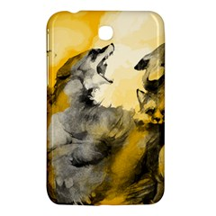 Wild Wolf Samsung Galaxy Tab 3 (7 ) P3200 Hardshell Case  by Brittlevirginclothing
