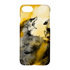 Wild Wolf Apple Iphone 7 Hardshell Case by Brittlevirginclothing