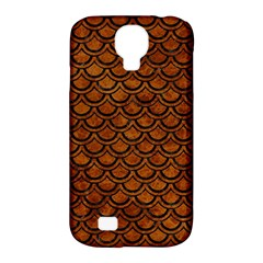 Scales2 Black Marble & Brown Marble (r) Samsung Galaxy S4 Classic Hardshell Case (pc+silicone) by trendistuff
