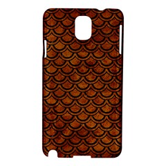 Scales2 Black Marble & Brown Marble (r) Samsung Galaxy Note 3 N9005 Hardshell Case by trendistuff