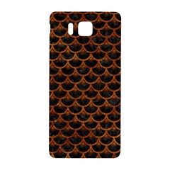 Scales3 Black Marble & Brown Marble Samsung Galaxy Alpha Hardshell Back Case by trendistuff