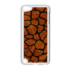 Skin1 Black Marble & Brown Marble Apple Ipod Touch 5 Case (white) by trendistuff
