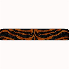 Skin2 Black Marble & Brown Marble Small Bar Mat by trendistuff