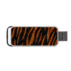 Skin3 Black Marble & Brown Marble Portable Usb Flash (two Sides) by trendistuff