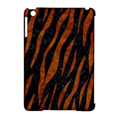 Skin3 Black Marble & Brown Marble Apple Ipad Mini Hardshell Case (compatible With Smart Cover) by trendistuff