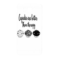 Cupcakes  Samsung Galaxy Alpha Hardshell Back Case by Brittlevirginclothing