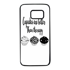 Cupcakes  Samsung Galaxy S7 Black Seamless Case by Brittlevirginclothing