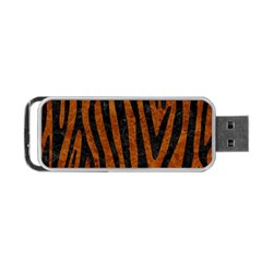 Skin4 Black Marble & Brown Marble Portable Usb Flash (two Sides) by trendistuff