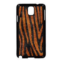 Skin4 Black Marble & Brown Marble (r) Samsung Galaxy Note 3 Neo Hardshell Case (black) by trendistuff