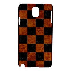 Square1 Black Marble & Brown Marble Samsung Galaxy Note 3 N9005 Hardshell Case