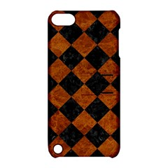 Square2 Black Marble & Brown Marble Apple Ipod Touch 5 Hardshell Case With Stand by trendistuff