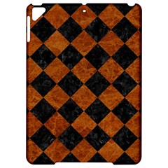 Square2 Black Marble & Brown Marble Apple Ipad Pro 9 7   Hardshell Case by trendistuff