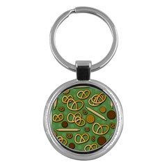 Bakery 4 Key Chains (round)  by Valentinaart