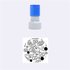 Bakery 4 Rubber Round Stamps (small) by Valentinaart