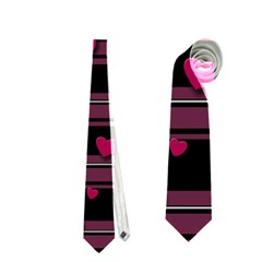 Harts Pattern Neckties (one Side)  by Valentinaart