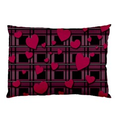 Harts Pattern Pillow Case (two Sides)