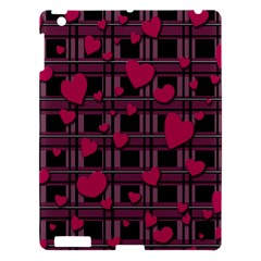 Harts Pattern Apple Ipad 3/4 Hardshell Case