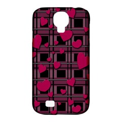 Harts Pattern Samsung Galaxy S4 Classic Hardshell Case (pc+silicone) by Valentinaart