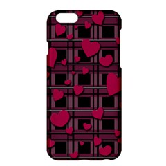 Harts Pattern Apple Iphone 6 Plus/6s Plus Hardshell Case by Valentinaart