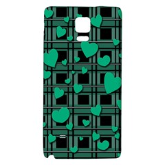 Green Love Galaxy Note 4 Back Case
