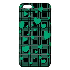 Green Love Iphone 6 Plus/6s Plus Tpu Case by Valentinaart