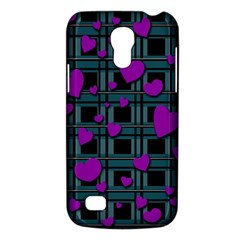 Purple Love Galaxy S4 Mini by Valentinaart