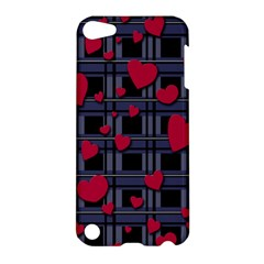 Decorative Love Apple Ipod Touch 5 Hardshell Case by Valentinaart