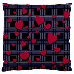Decorative Love Standard Flano Cushion Case (one Side) by Valentinaart