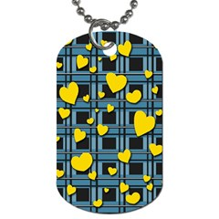 Love Design Dog Tag (two Sides) by Valentinaart