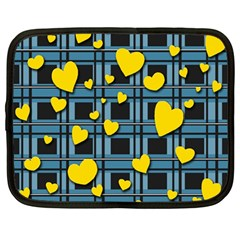 Love Design Netbook Case (large) by Valentinaart