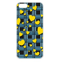 Love Design Apple Iphone 5 Seamless Case (white) by Valentinaart