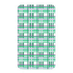Green Plaid Pattern Memory Card Reader by Valentinaart