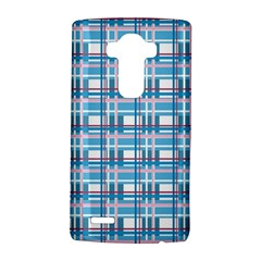 Blue Plaid Pattern Lg G4 Hardshell Case by Valentinaart