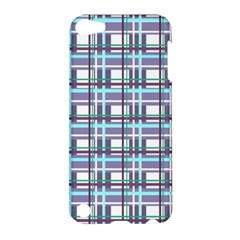 Decorative Plaid Pattern Apple Ipod Touch 5 Hardshell Case by Valentinaart