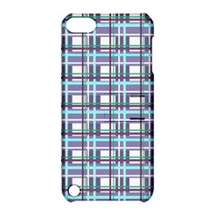 Decorative Plaid Pattern Apple Ipod Touch 5 Hardshell Case With Stand by Valentinaart