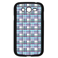 Decorative Plaid Pattern Samsung Galaxy Grand Duos I9082 Case (black) by Valentinaart