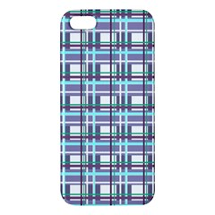 Decorative Plaid Pattern Iphone 5s/ Se Premium Hardshell Case