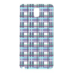 Decorative Plaid Pattern Samsung Galaxy Note 3 N9005 Hardshell Back Case by Valentinaart