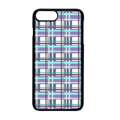 Decorative Plaid Pattern Apple Iphone 7 Plus Seamless Case (black) by Valentinaart