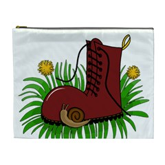 Boot In The Grass Cosmetic Bag (xl)