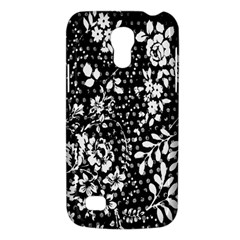 Vintage Black And White Flower Galaxy S4 Mini by Brittlevirginclothing