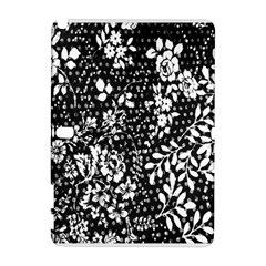 Vintage Black And White Flower Galaxy Note 1 by Brittlevirginclothing