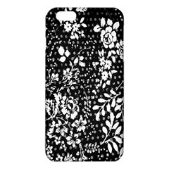 Vintage Black And White Flower Iphone 6 Plus/6s Plus Tpu Case by Brittlevirginclothing