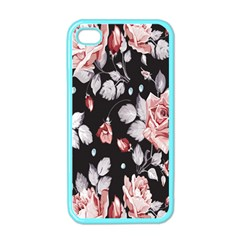 Vintage Colorful Flower  Apple Iphone 4 Case (color) by Brittlevirginclothing