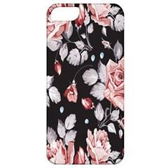 Vintage Colorful Flower  Apple Iphone 5 Classic Hardshell Case by Brittlevirginclothing